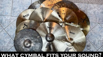 Comparing crash cymbals - What fits your sound?