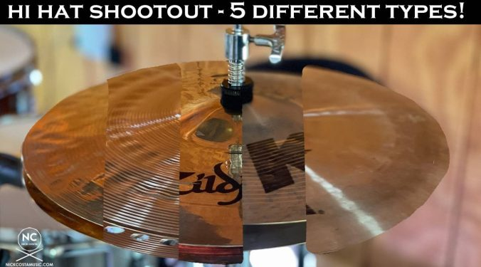 Hi Hat Shootout - Which one is your sound?