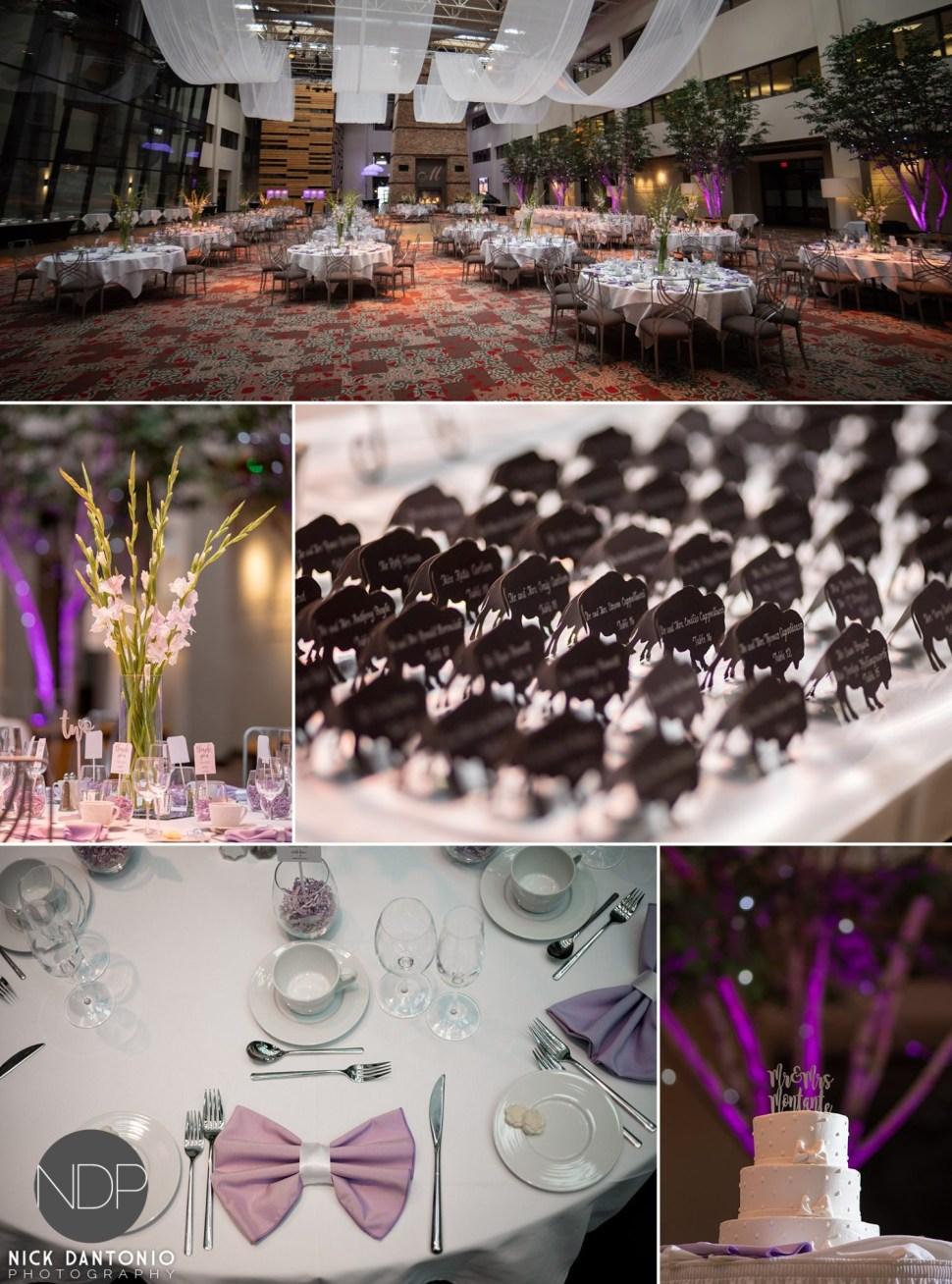 40-Buffalo Rich's Atrium Wedding Reception