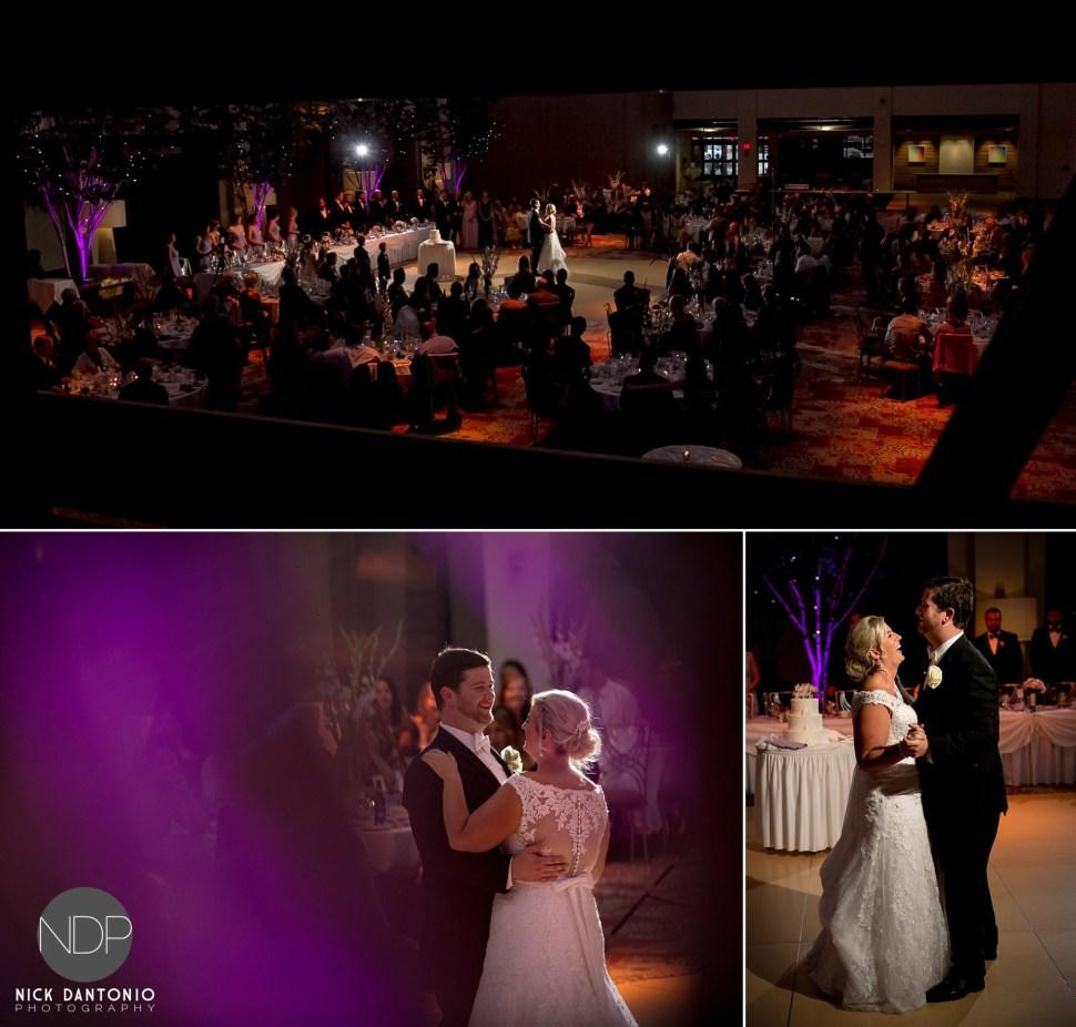 41-Buffalo Rich's Atrium Wedding Reception