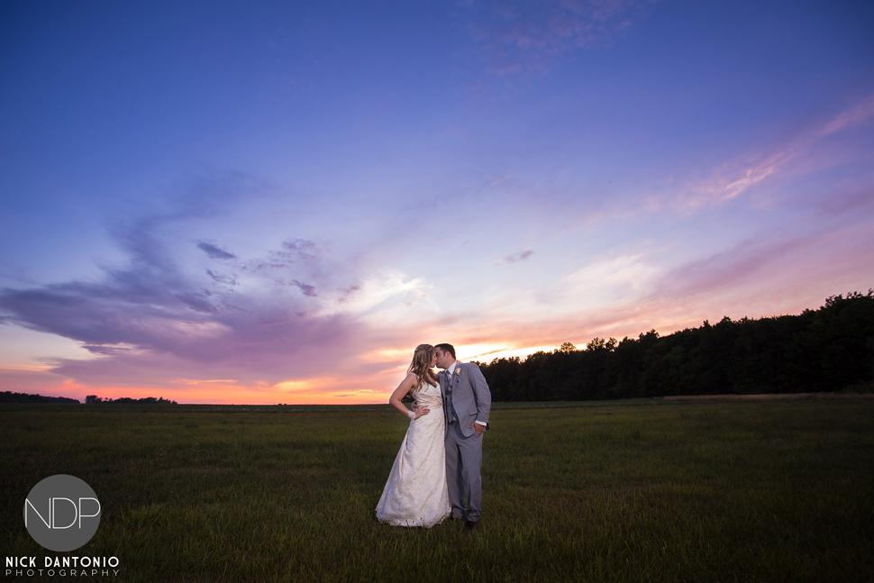 77-Becker Farms Sunset Wedding