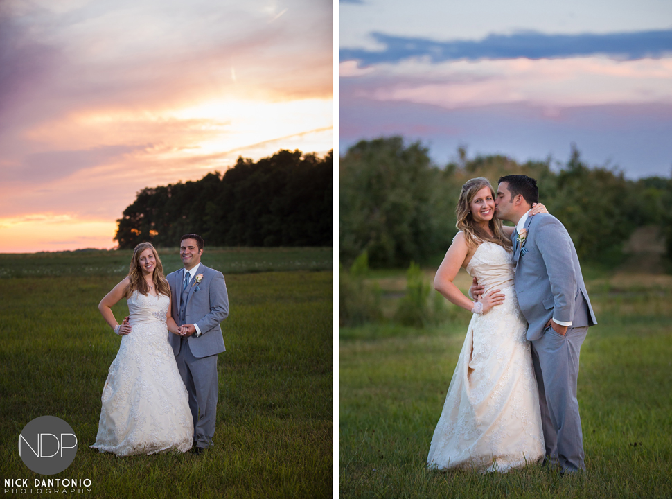 78-Becker Farms Sunset Wedding
