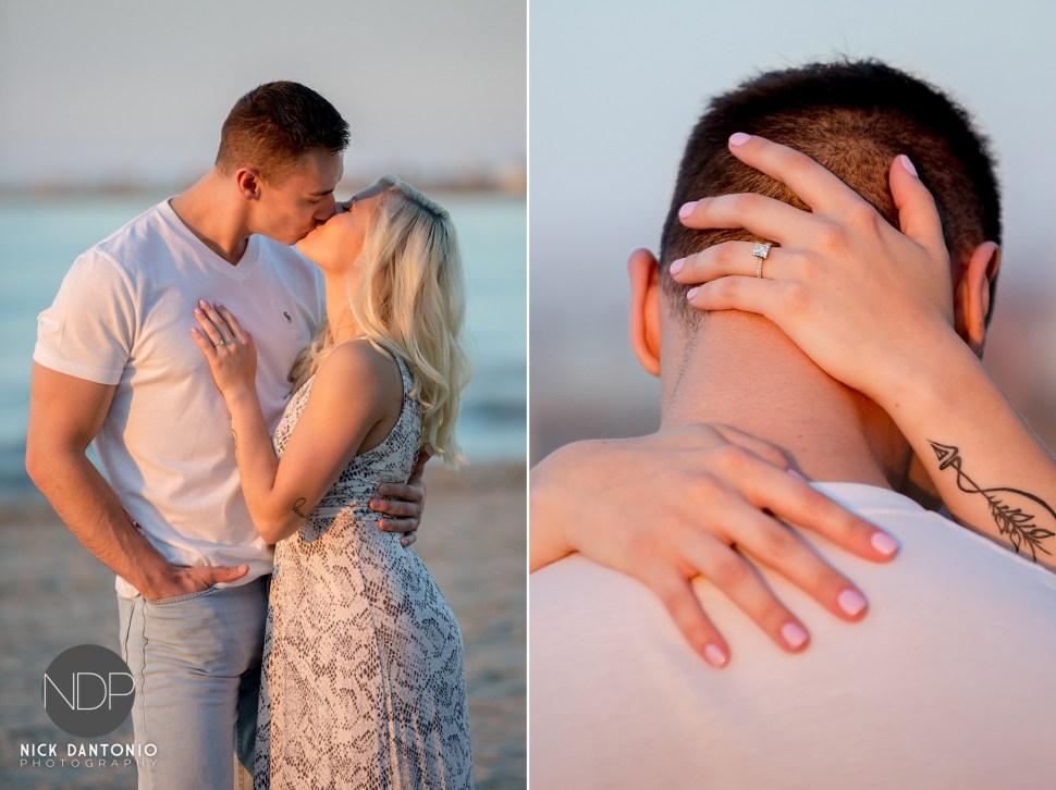 9-Charlotte Beach Engagement