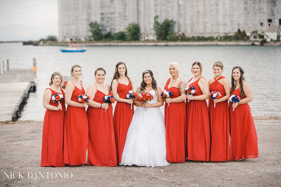 18-Buffalo Waterfront Wedding