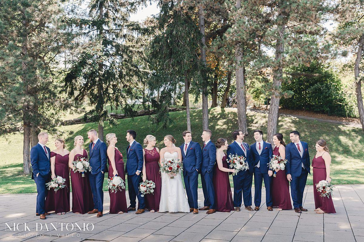 19-Delaware Park Buffalo Wedding
