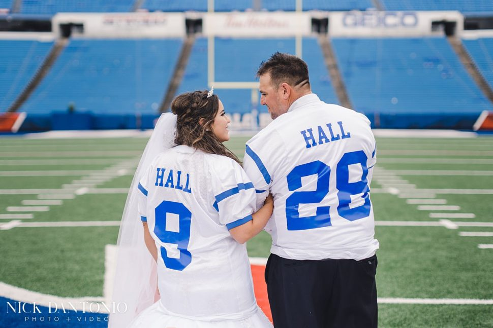 26a-Buffalo Bills New Era Field Wedding