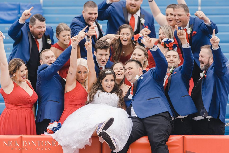 27-Buffalo Bills New Era Field Wedding