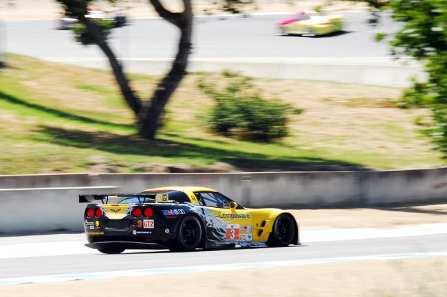 American Le Mans Series at Laguna Seca, Monterey California- Corvette GT 3rd Place