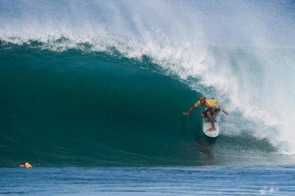 Surfing legend Kelly Slater, just one of many who come out for the Vans Triple Crown.