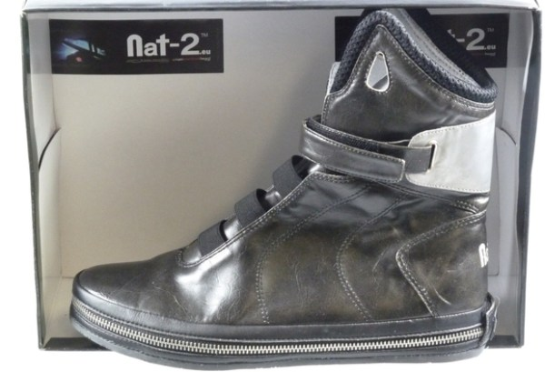"Genuine Imitation Nike Air Mag: Nat-2 Future ""Black Space"" the not-so Back to the Future shoes."