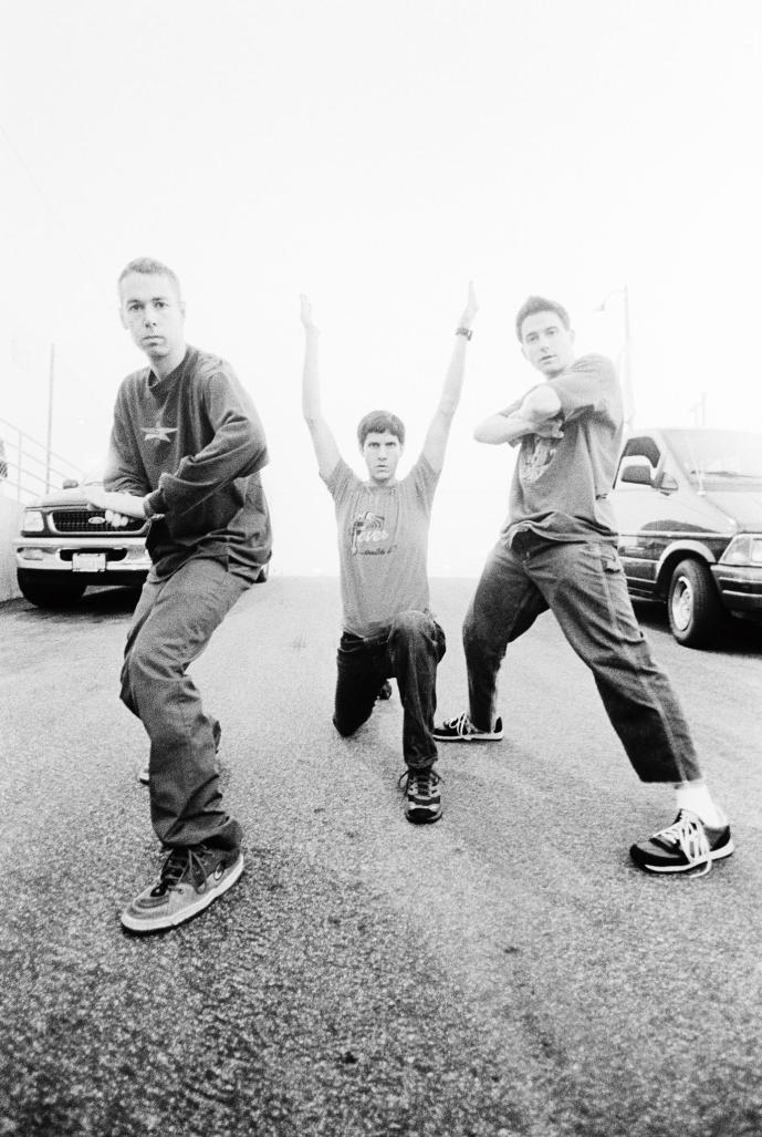 The Beastie Boys in Los Angeles, 1998 MTV VMAs. Photo by Danny Clinch. (Speaking Your Truth)