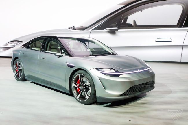 Sony Vision S Electric Car Concept