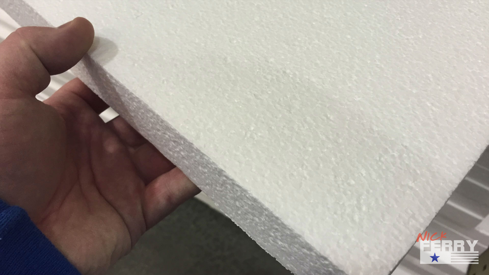 Making Brick Walls From Styrofoam Ep65