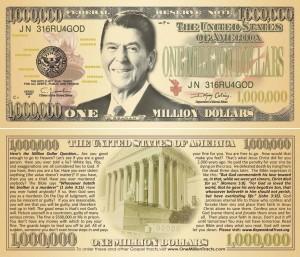 Fake Million Dollar Gospel Tract