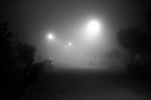 It was a dark and foggy night