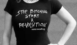 Stop complaining start a revolution