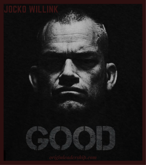 """Experience the EPIC Jocko Willink rant that has been dubbed """"GOOD"""". """"Didn't get the job you wanted? Good... Go out, gain more experience, and build a better resume."""""""
