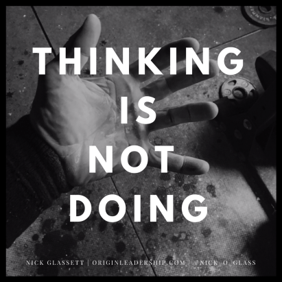 Thinking is NOT doing I post this because I struggle with it, not because I've mastered it and not because I'm immune to it. . . . Thinkers are brilliant people but we can sometimes get bogged down by over analyzing. Or like in my case, I think that because I asked a great question that it will do something. It won't. That's because THINKING IS NOT DOING. . . . The secret to success lies in ACTION. And that sounds obvious, but ponder the amount of great ideas that you've had that you didn't do anything with…Invention, app, website, business, GOING TO THE GYM… . . . Every second matters. So waste none, take action, get started!! Employee Motivation Quotes