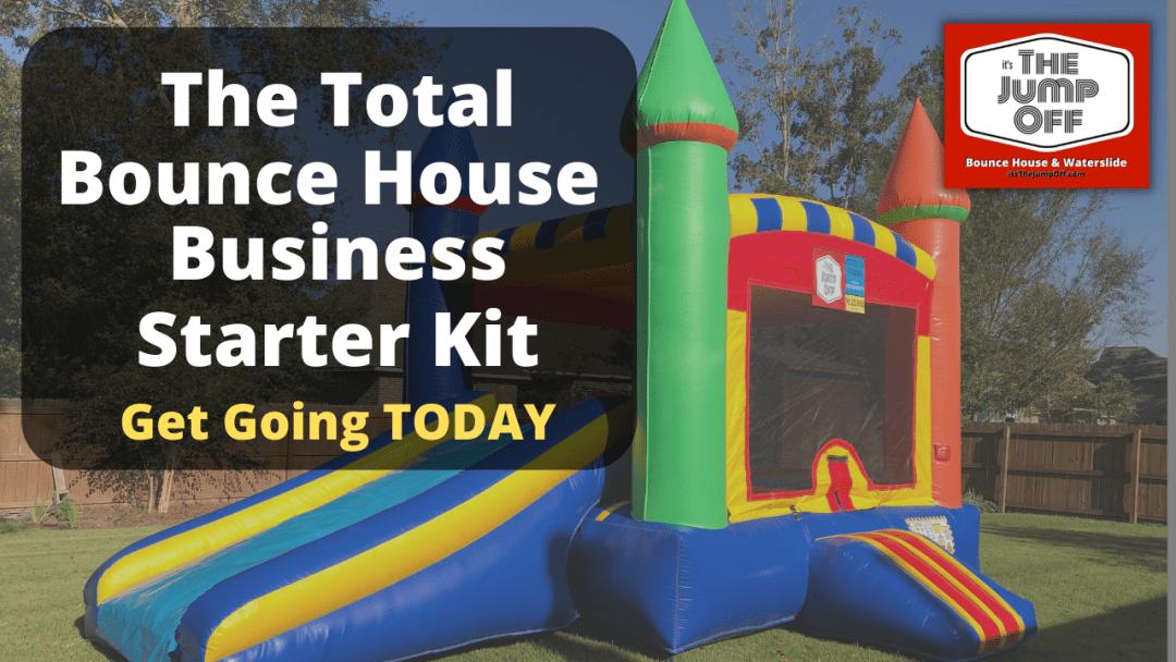 bounce house business starter kit