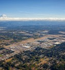 Auburn WA aerial photo with Rainier