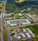 Troutdale Gresham aerial photo