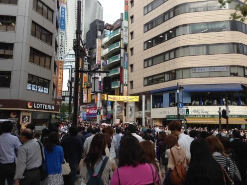 Crowds of Ikebukuro