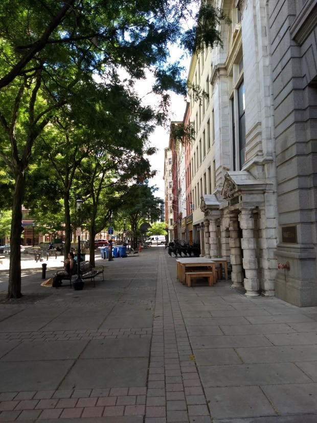 Hanover Square - Genesee St