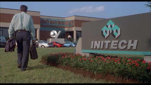 Office Space, a 1999 film set in a fictional suburban office park. (IMDB)