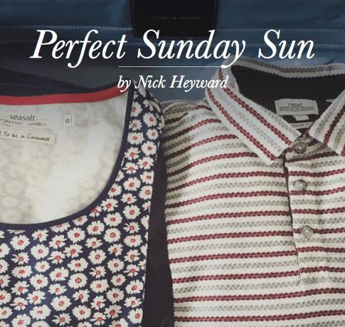 Perfect Sunday Sun single sleeve