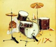 1966 Catalogue picture, Premier '58' drum set