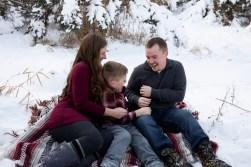 Outdoor lifestyle family photo session portrait by MN Family Photographer Nicki Joachim Photography of Owatonna, Minnesota