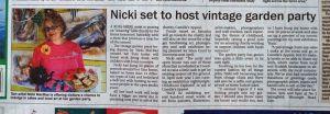 Nicki MacRae Press Coverage - Ross-shire Journal - 7th June 2012