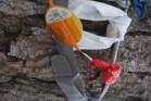 Orange net at the Clootie Well