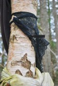 Nicki MacRae Art - Knickers hung up at the Clootie Well