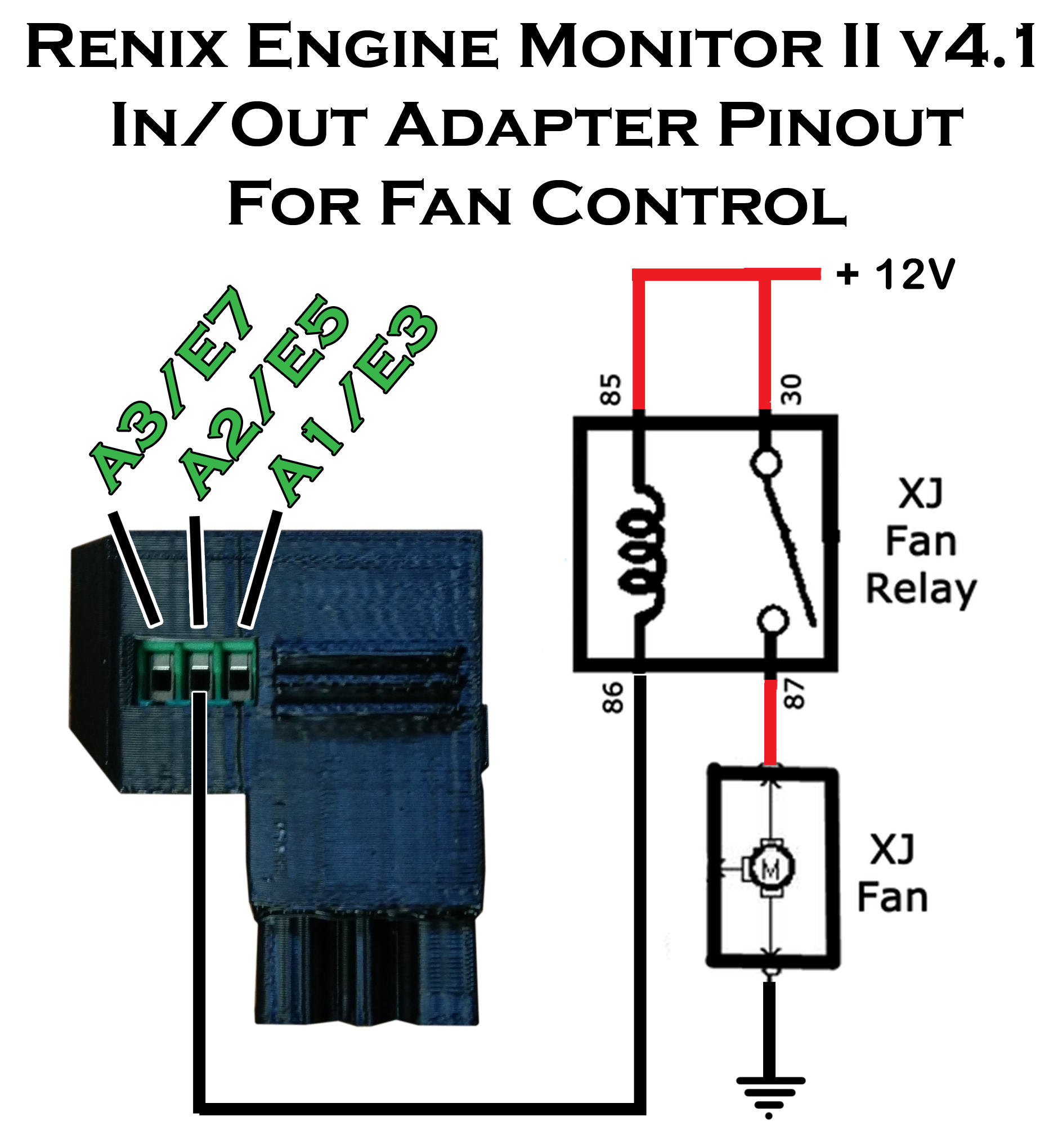 Extra Renix to REM Adapter