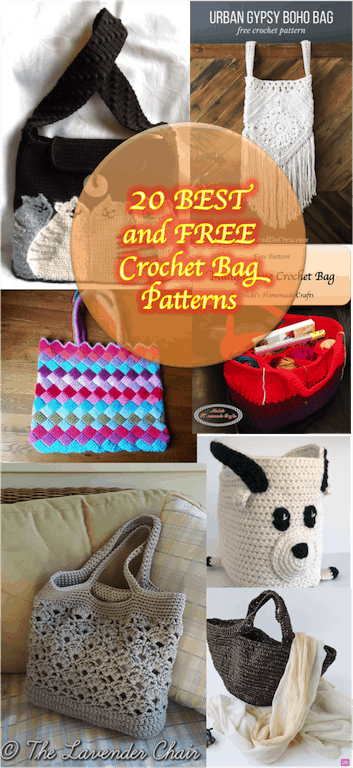 20 best free crochet bag patterns nickis homemade crafts dt1010fo