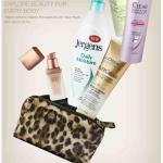 Free Target Beauty Bag…