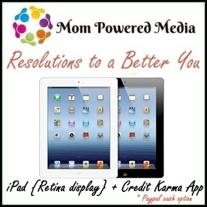 New Years Resolutions iPad Giveaway – Over