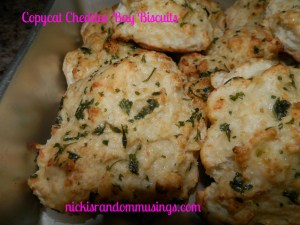 Copy Cat Cheddar Bay Biscuits