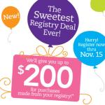 """Earn Cash Back From Babies """"R"""" Us Sweetest Registry Deal"""