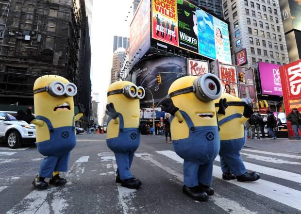 Despciable Me 2 Minions in Manhattan