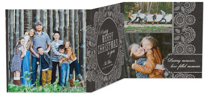 WOW Family and Friends with Remarkable Christmas Cards from Tiny Prints