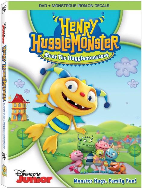 Meet The Hugglemonsters on DVD 1/14/14