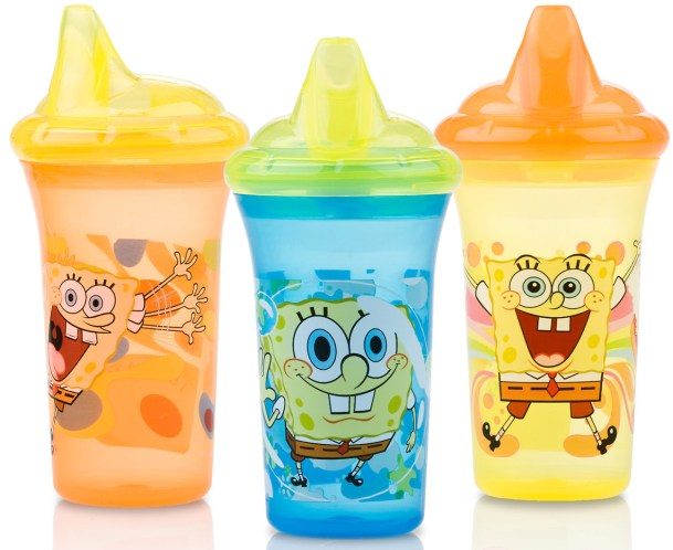 Nuby Dual-Flo™ Nickelodeon™ Printed Hard Spout Cup Review
