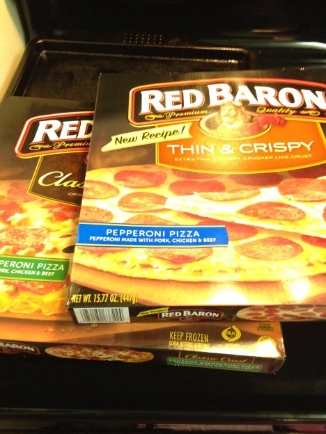 Gearing Up For the Big Game with Red Baron Pizza