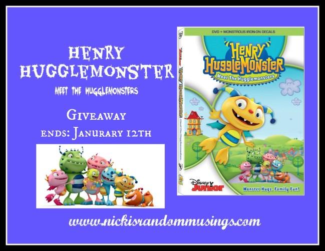 Meet the Hugglemonsters DVD Giveaway