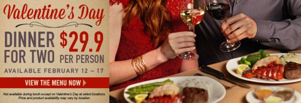 Dine at Bonefish Grill This Valentine's Day Weekend