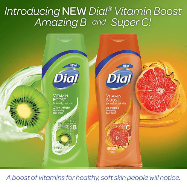 Dial Vitamin Boost Body Wash Review