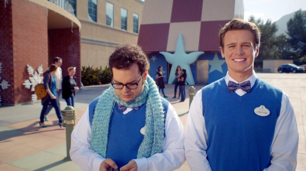 """""""FROZEN""""  Josh Gad and Jonathan Groff sing about the """"Making of Frozen"""". ©2014 Disney. All Rights Reserved."""