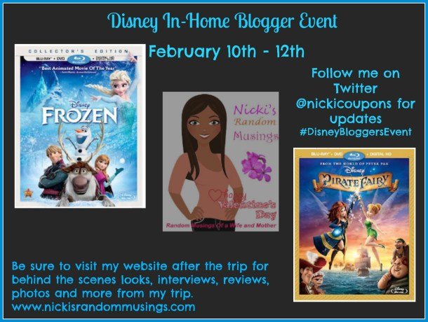 They Asked, I Said Yes, So I'm Heading to LA to Disney Studios #PirateFairyBloggers #FrozenBluRay